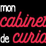 Logo Mon cabinet de curiosités bianco