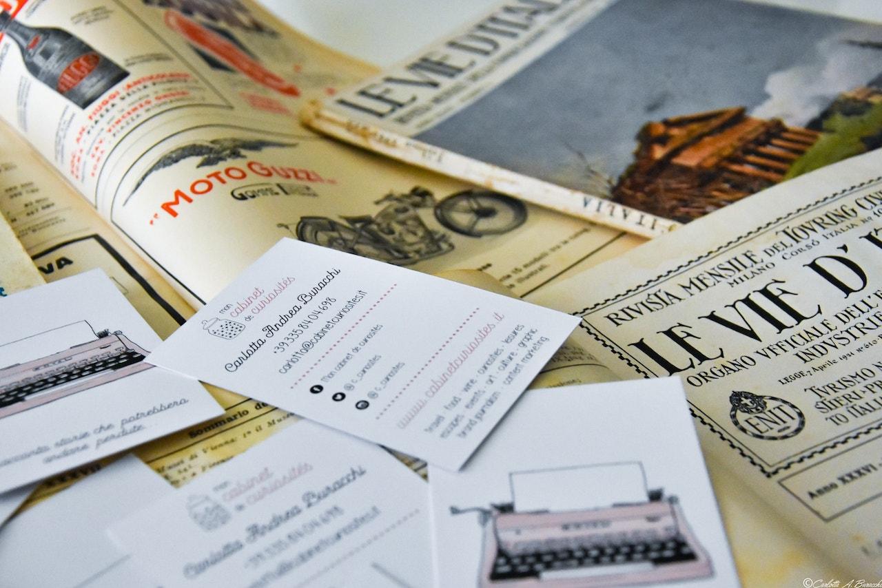 Le vecchie riviste del Touring Club Italiano sono state per me una delle principali fonti d'ispirazione per la creazione di Mon Cabinet des Curiosités