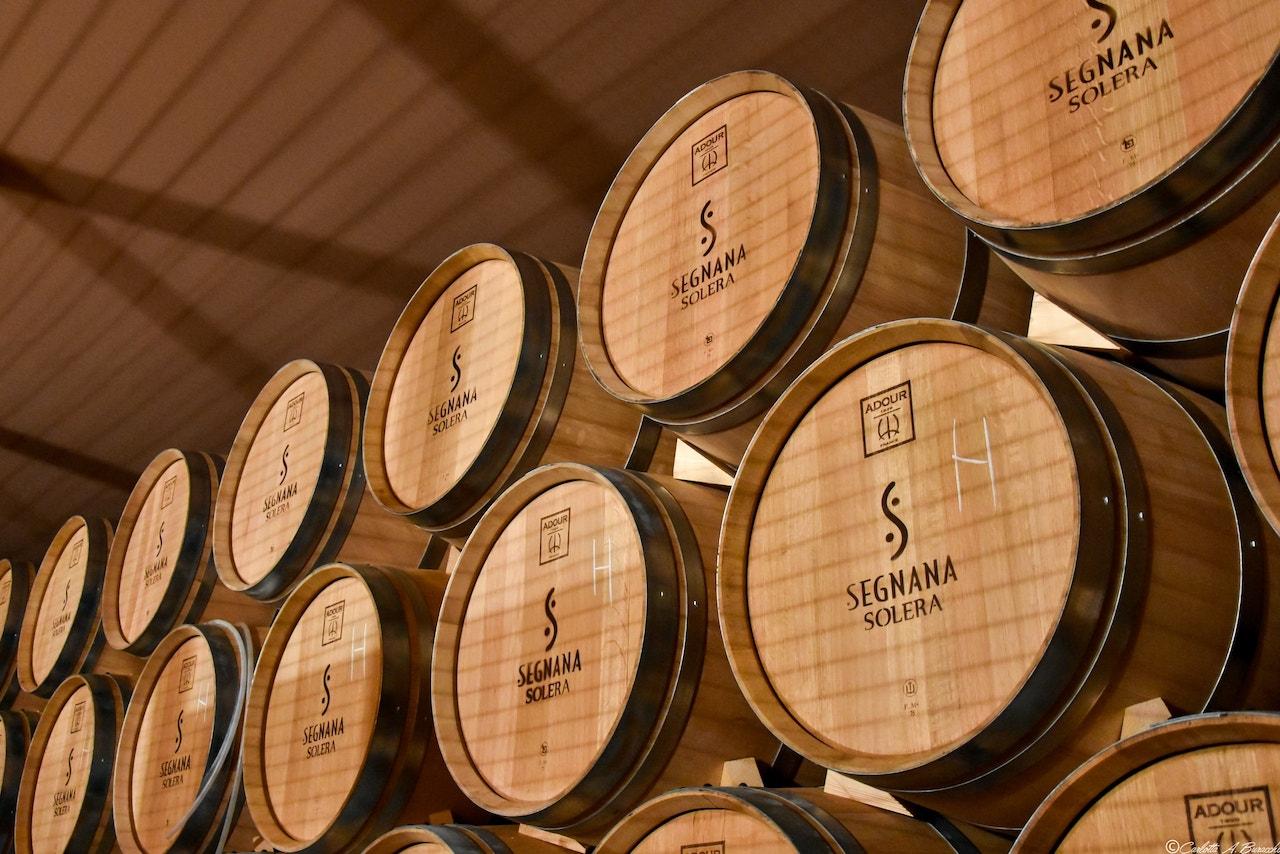 Metodo Solera impiegato alla distilleria Segnana, Trento