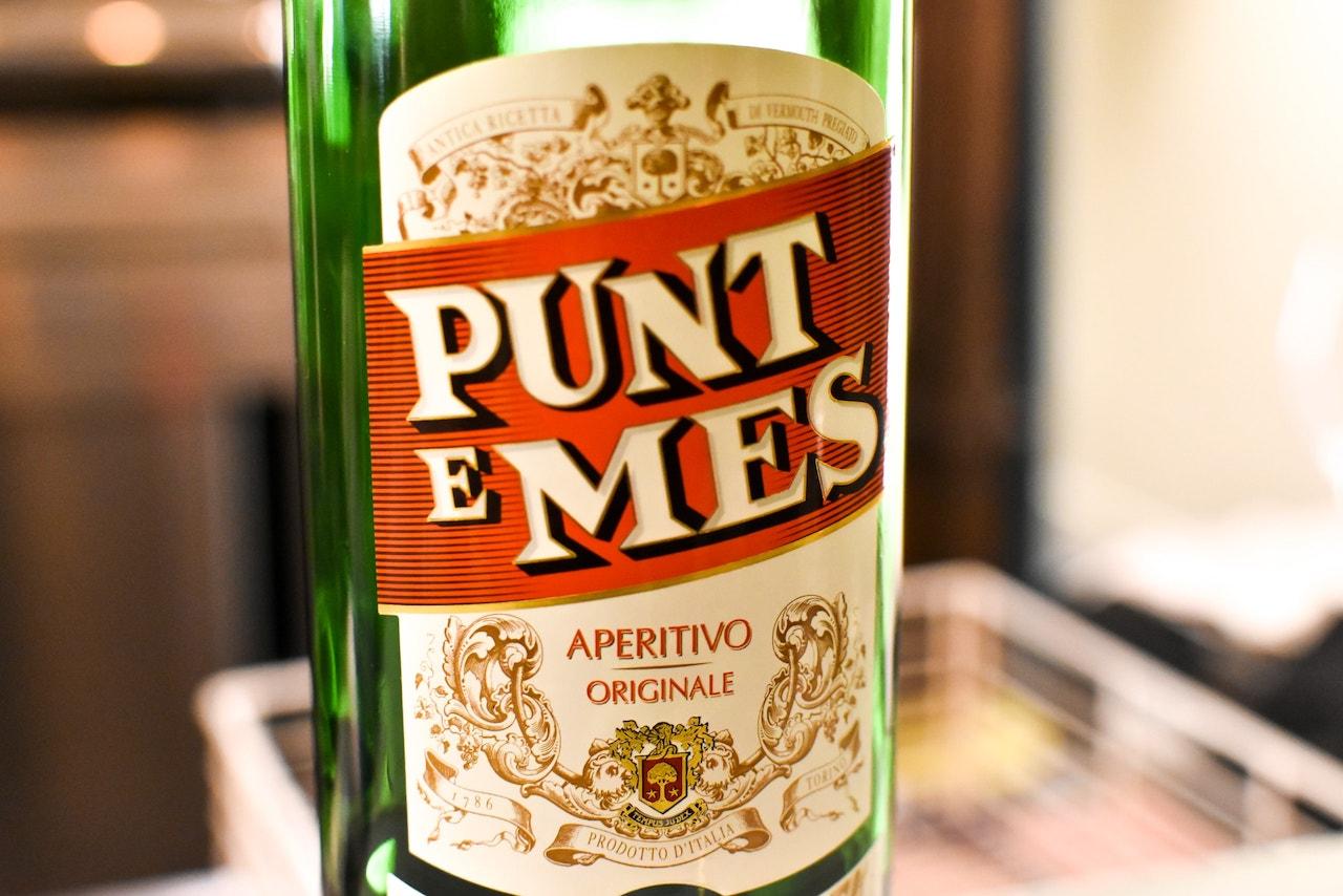 Il vermouth Punt e Mes con cui ho concluso la mia cena a Carlo e Camillo Bistrot