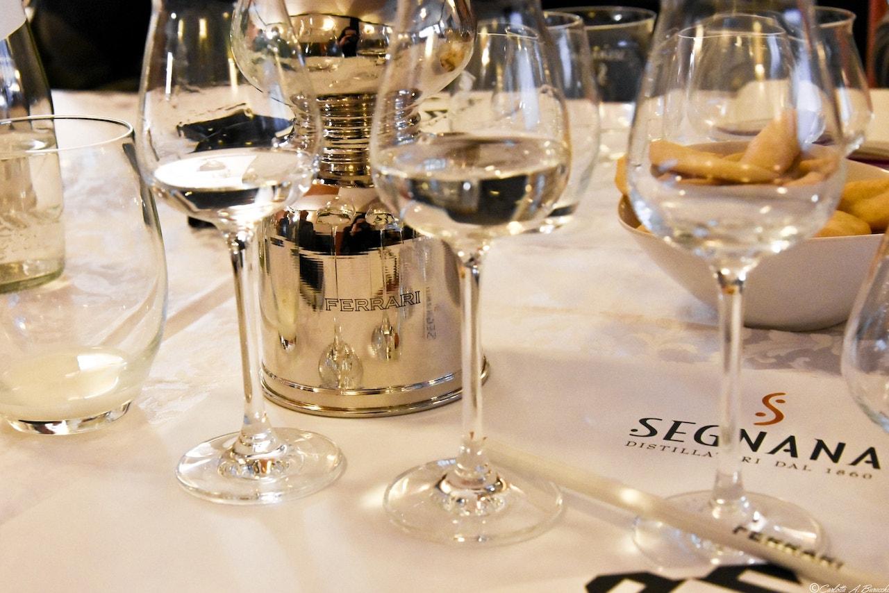 """Distilleria Segnana, le grappe """"firmate Ferrari"""", di proprietà del gruppo Lunelli"""