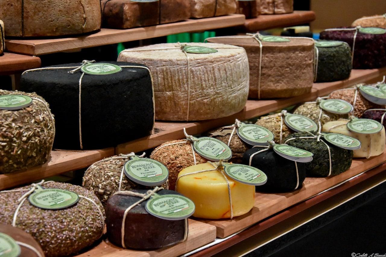 Formaggi di Romagna esposti a Taste Firenze edizione 2018