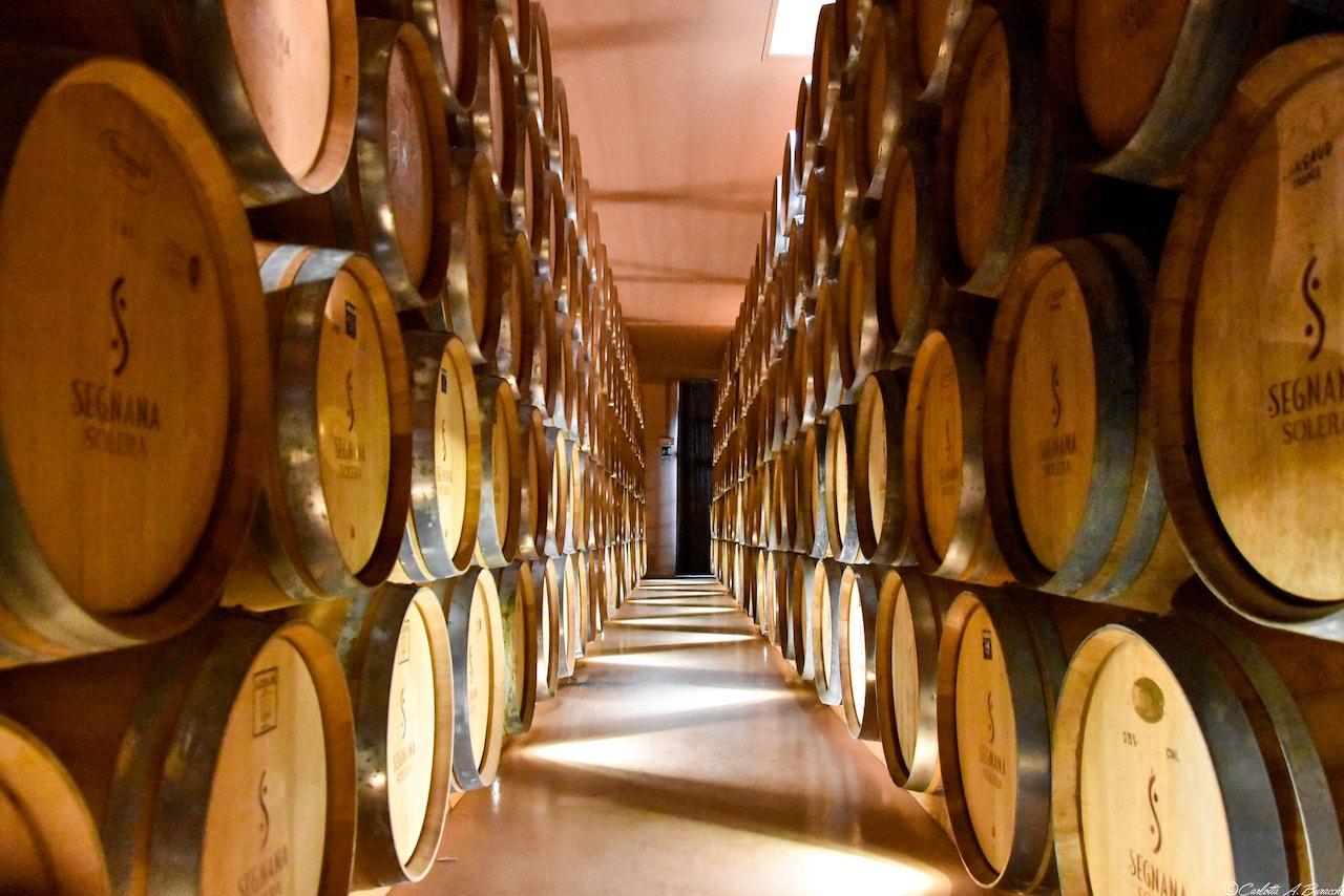 Invecchiamento della grappa con metodo Solera, Distilleria Segnana, Trento