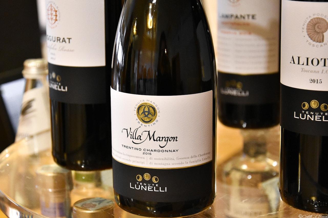 Alcuni vini del Gruppo Lunelli, proprietario delle Cantine Ferrari, Trento