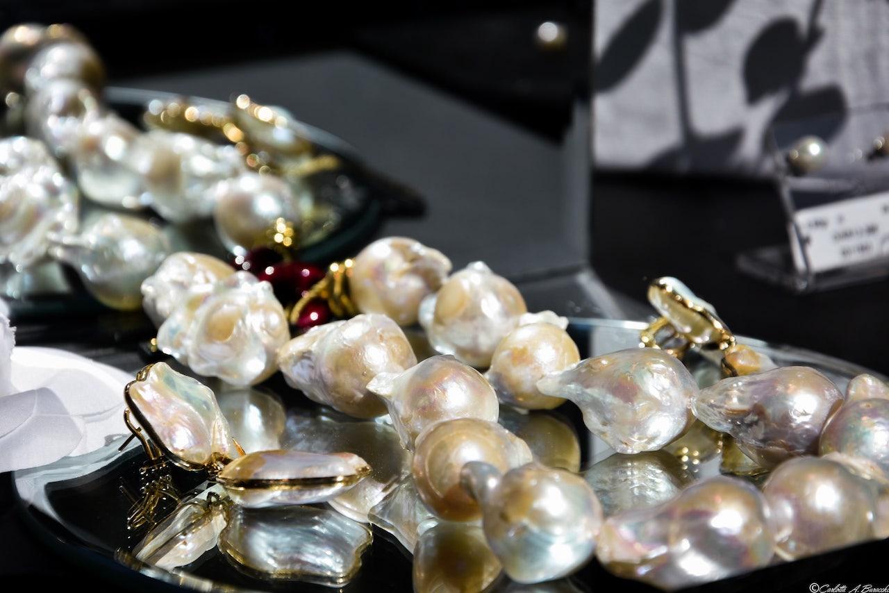 """Perle naturali esposte durante """"Gioiello in vetrina"""", l'evento curato da Confcommercio Arezzo"""