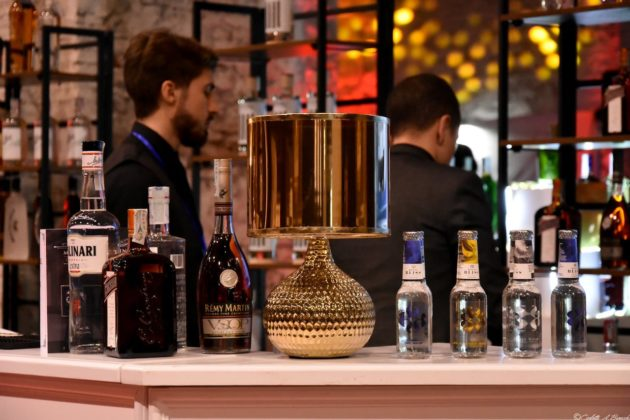 Cocktails nell'area Mixology, Food&Wine in Progress 2018