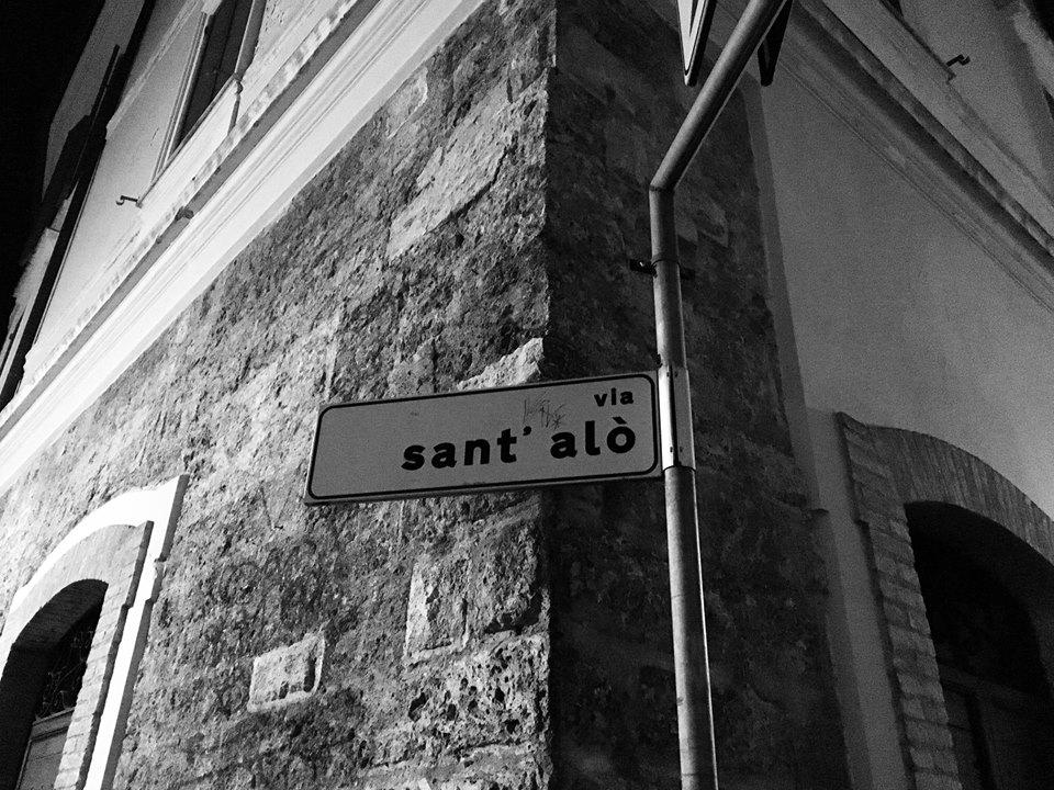 Via Sant'Alò a Terni, una via che ha catturato la mia attenzione