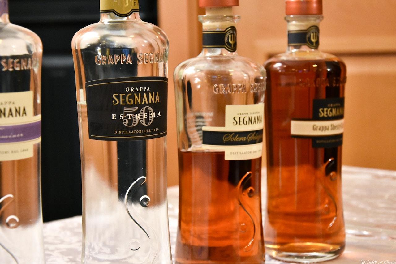 Grappe Estrema50, Solera e Sherry Cask della distilleria Segnana, Trento