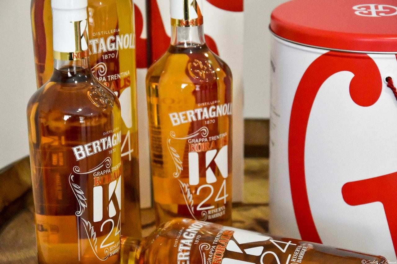 Grappe invecchiate della Distilleria Bertagnolli