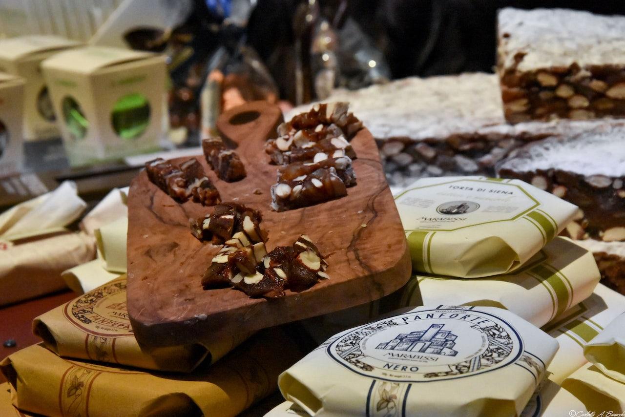 Il panforte della pasticceria Marabissi di Chianciano Terme a Taste Firenze 2018