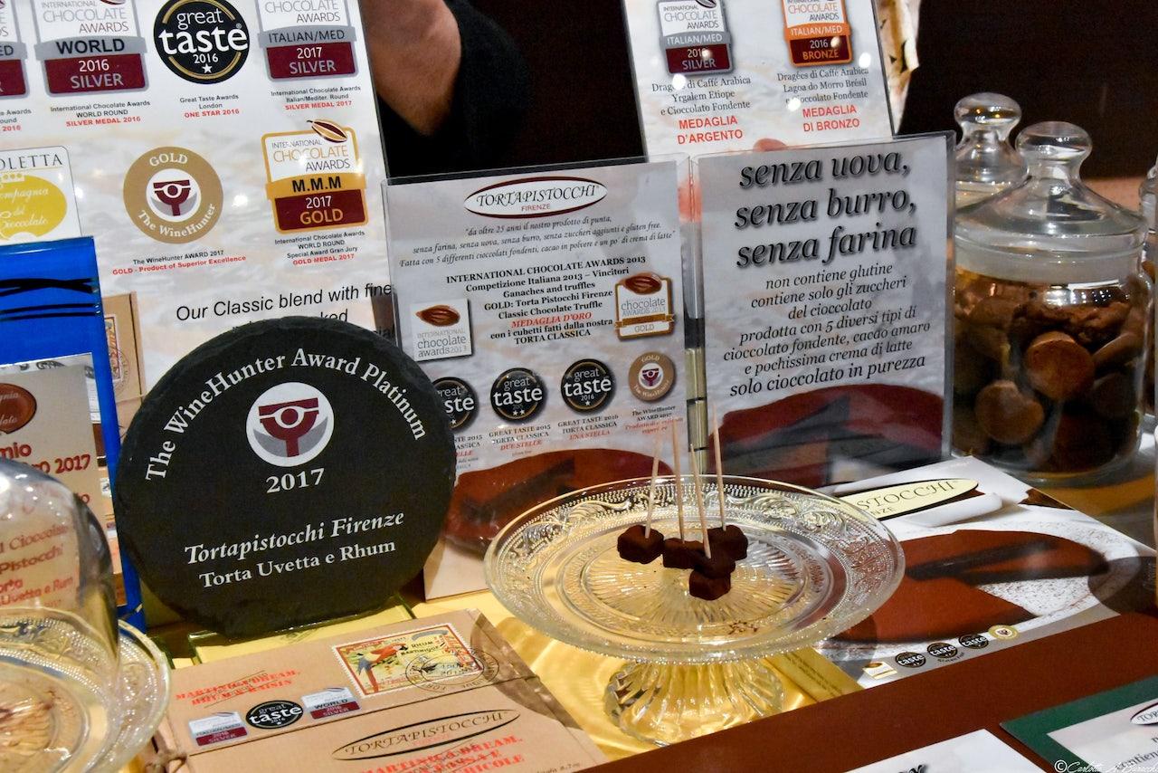 La deliziosa Torta Pistocchi a Taste Firenze edizione 2018