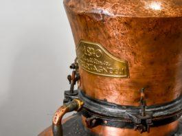 Il vecchio impianto di distillazione della Distilleria Bertagnolli