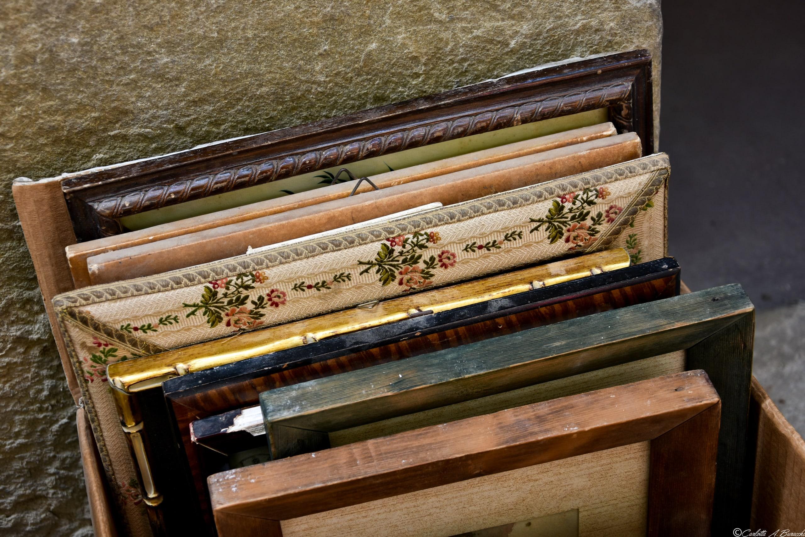 Cornici, Fiera Antiquaria di Arezzo