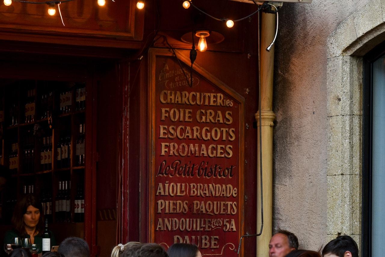 Un bistrot nel cuore della città vecchia di Aix-en-Provence