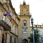 Place de l'Hôtel de Ville ad Aix-en-Provence