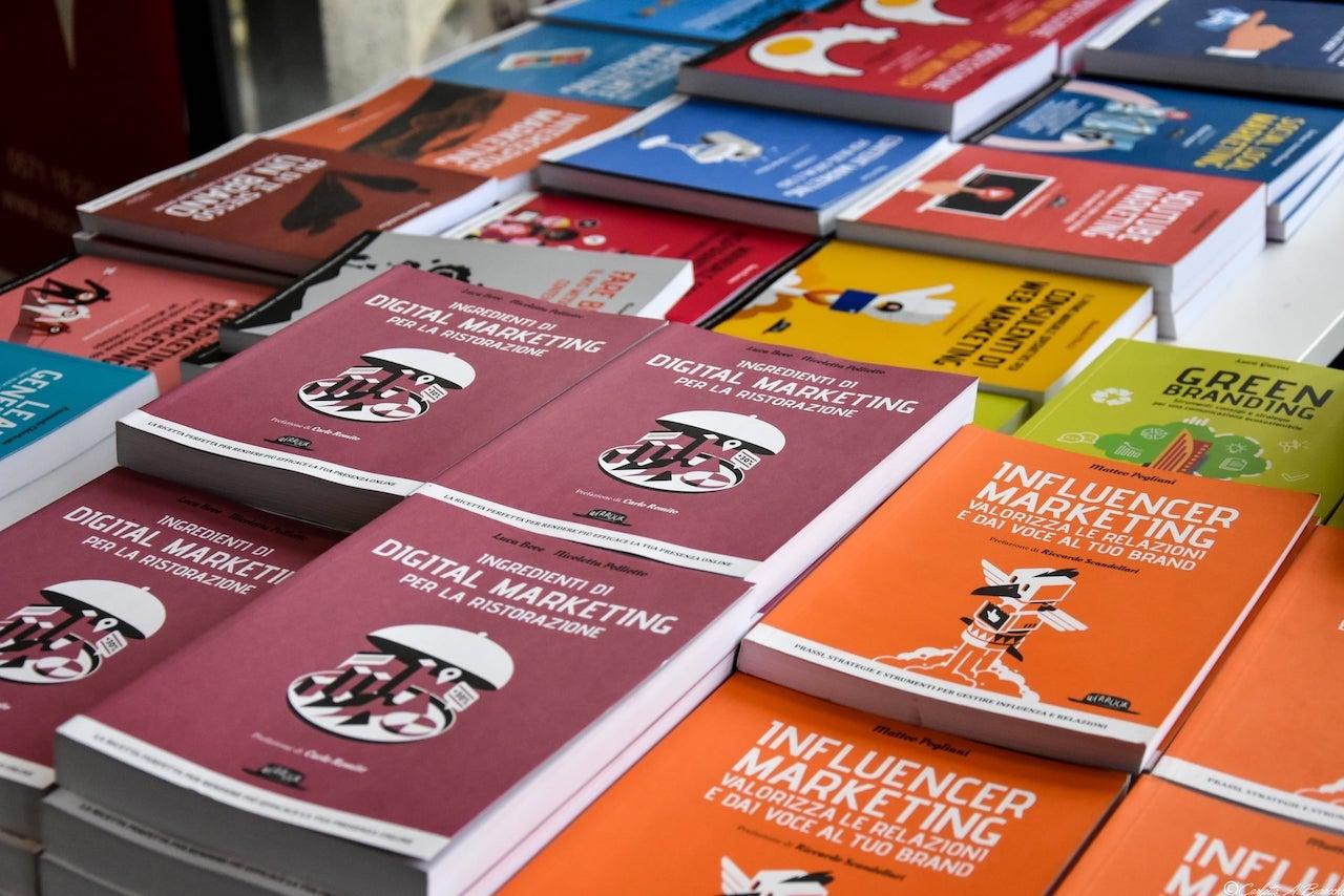 I libri della casa editrice Dario Flaccovio, specializzata in digitale