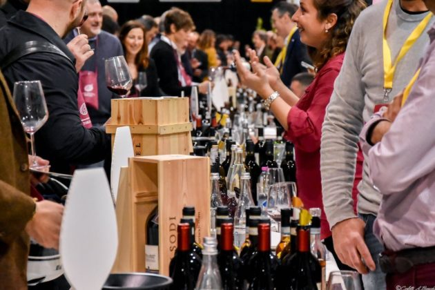 L'area dedicata ai vini a cura di Ais Toscana a Food & Wine in Progress 2018