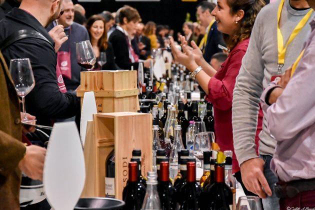 L'area dedicata ai vini a cura di Ais Toscana a Food & Wine in Progress 2018