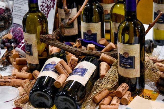 Molti i produttori di vino nell'edizione 2018 di Food & Wine in Progress alla Stazione Leopolda di Firenze