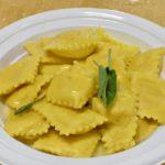 Festa di Santa Cristina Papiano, Tortelli di patate burro e salvia