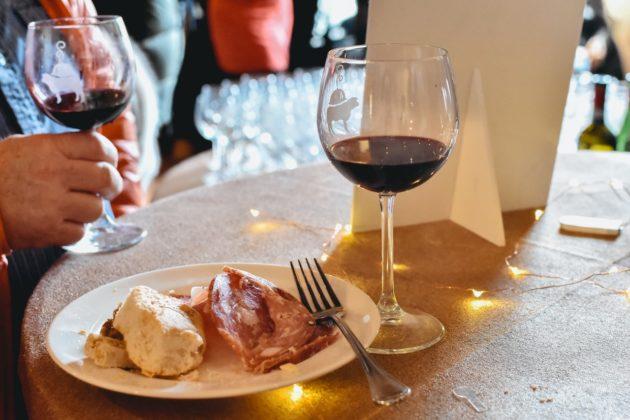 Colazione al Museo 2020, Salumi e vino del territorio cortonese