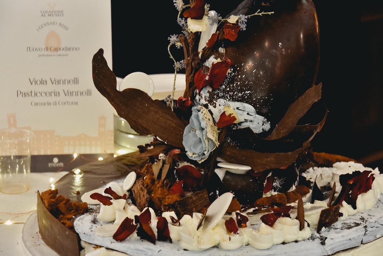 Colazione al Museo 2020, la torta della Pasticceria Vannelli di Camucia