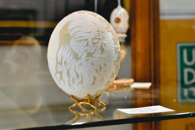 Colazione al Museo 2020, una creazione dedicata a Leonardo da Vinci dalla collezione del Museo dell'Ovo Pinto di Civitella del Lago (Terni)